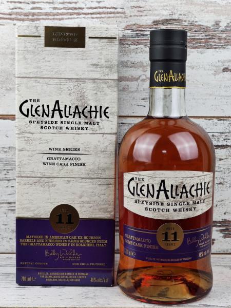 Glenallachie 11 Jahre Grattamacco Wine Cask Finish