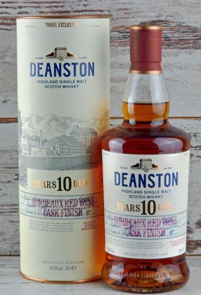 Deanston 10y. Bordeaux Red Wine Cask Finish