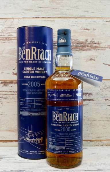 Benriach 2005/2016 11y for Kirsch Whisky